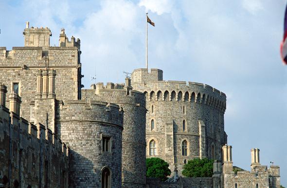 Windsor Castle in England.