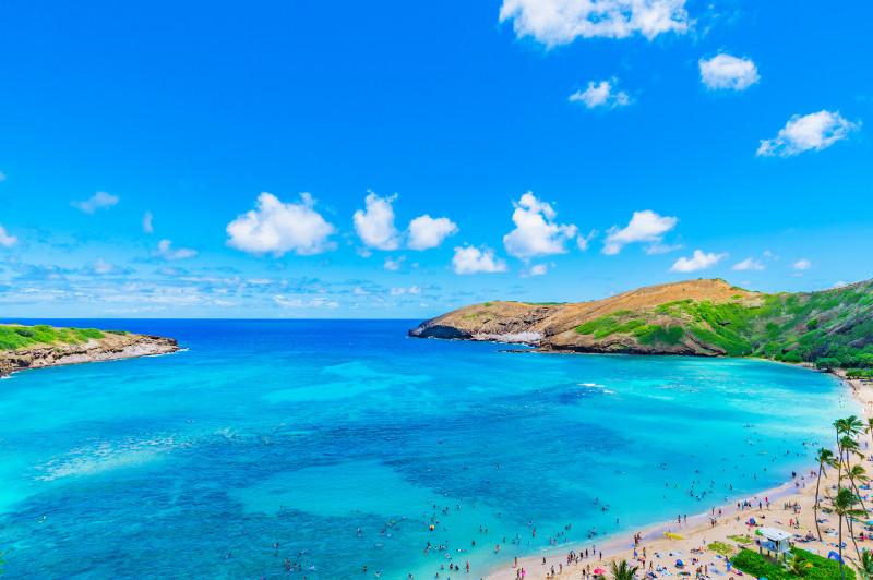 Hanauma Bay on the island of Oahu.