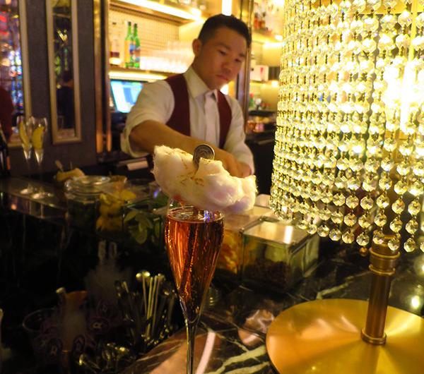 Cocktail at Rosina bar, The Palazzo Las Vegas