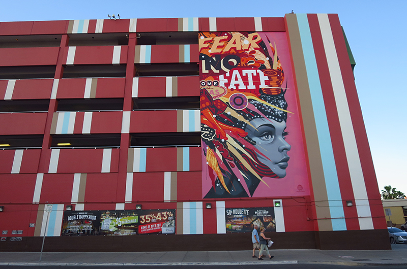 Street art in Downtown Las Vegas