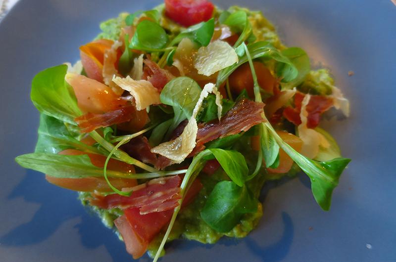 Proscuitto e Melone dish at 7th & Carson, Las Vegas