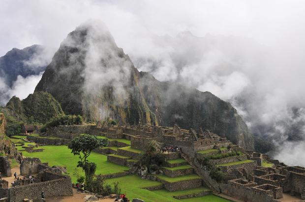 The Machu Picchu ruins in Lima