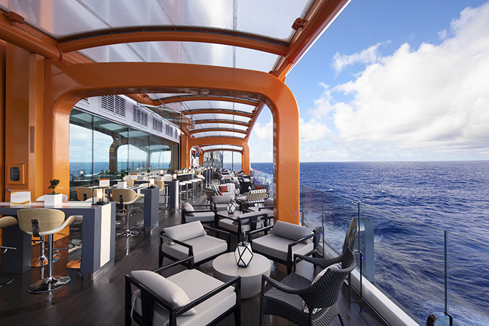 The Magic Carpet. Celebrity Cruises Celebrity Edge