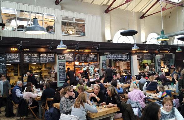 Altrincham Market in Manchester