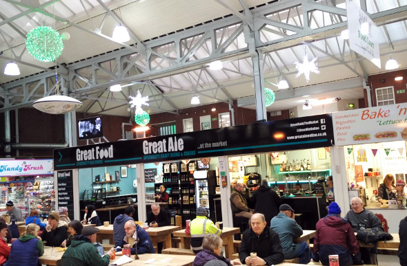 Bolton's market in Manchester is a multicultural experience. Picture: Steve McKenna