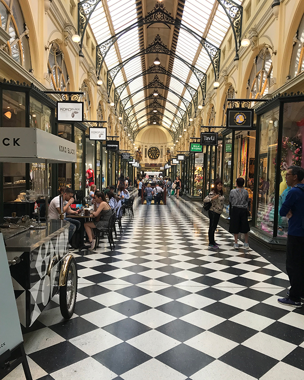 Interior of the Block Arcade, Melbourne