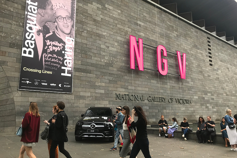 Exterior of the NGV International