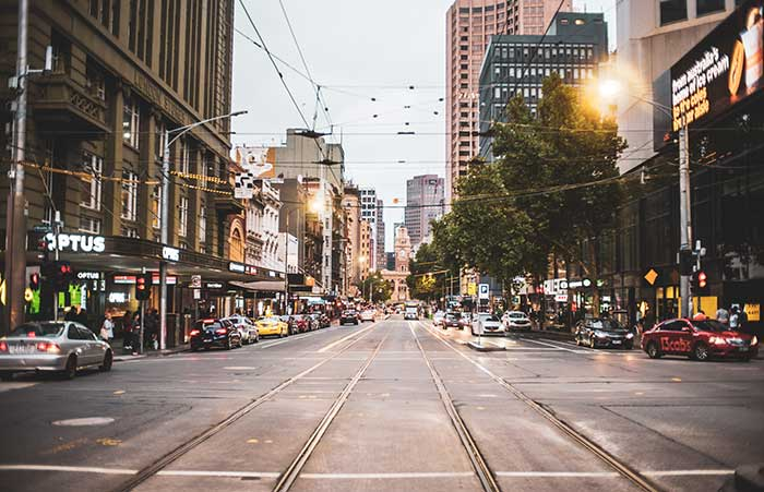 Melbourne, a city that really comes alive