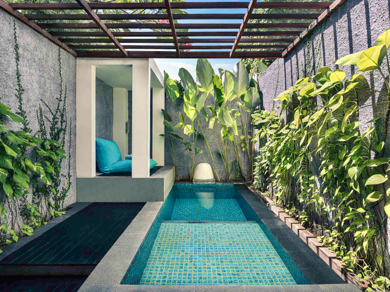 Pool villa at the mercure
