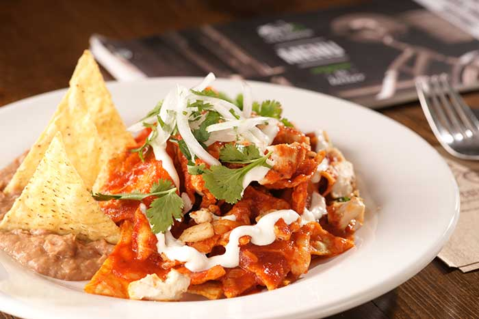 Mexican chilaquiles is an underrated dish