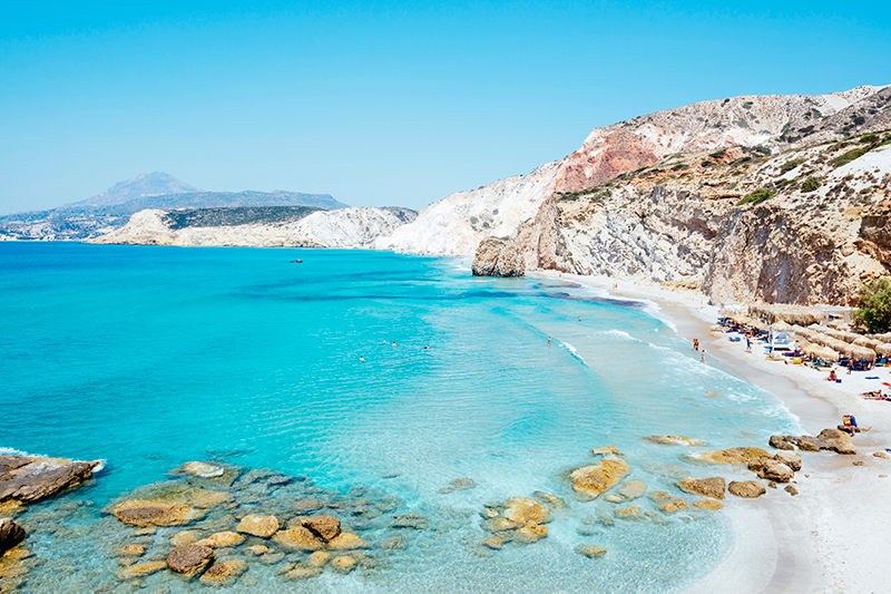 Firiplaka Beach, Milos