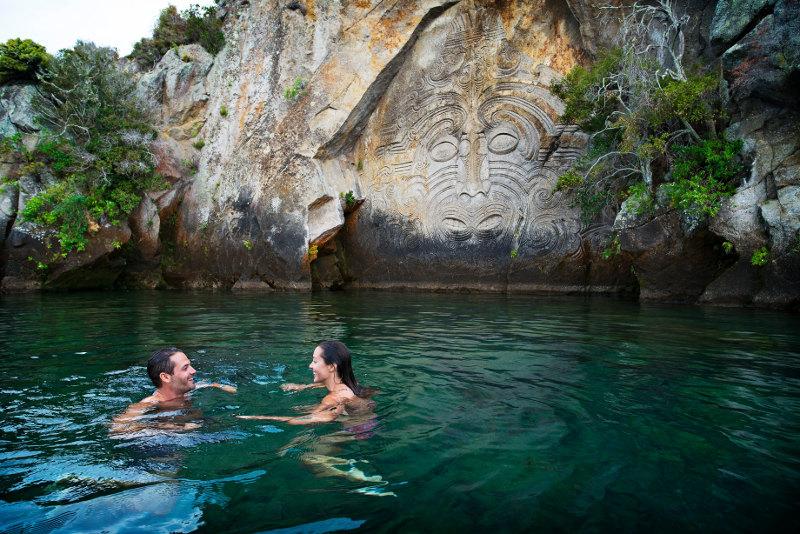 Mine Bay, Lake Taupo, New Zealand