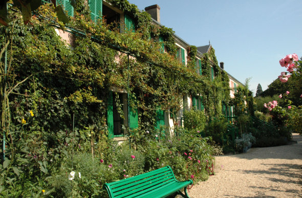 Monet's home at Giverny, France.