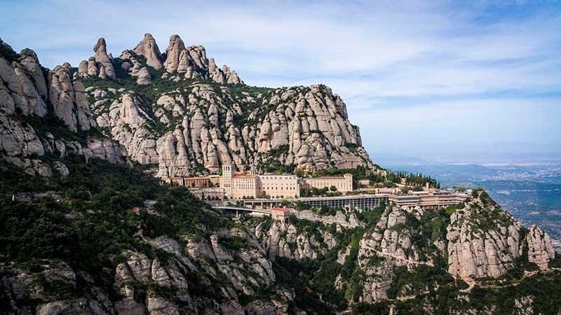 Montserrat monastery spain