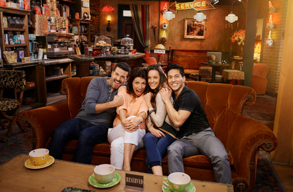 The Central Perk set from the TV show Friends at Warner Bros.