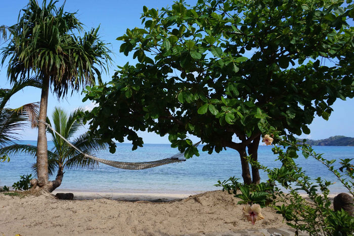 beachfront hammock mantaray island resort fiji