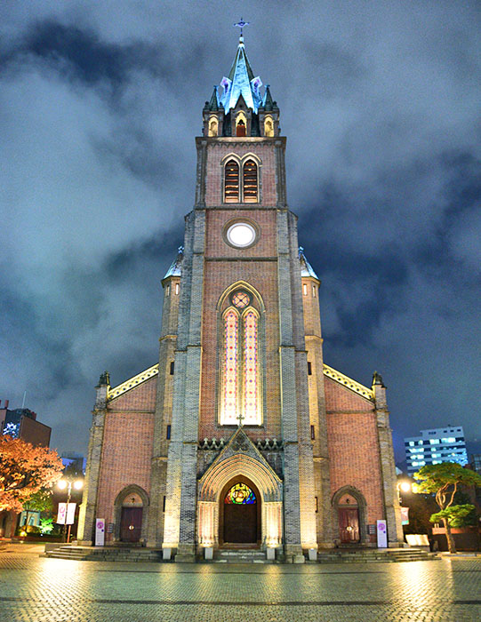 Myeong-dong Cathedral. Image: Ronan O'Connell