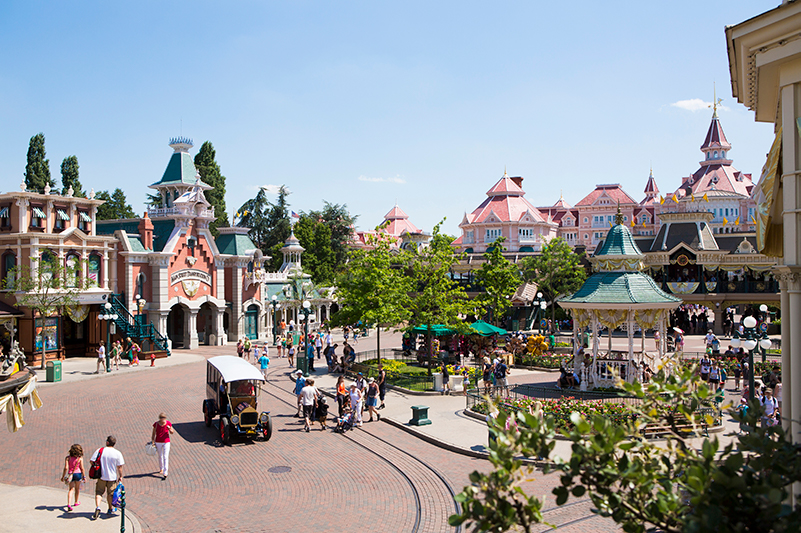 Main Street USA, Disneyland Paris