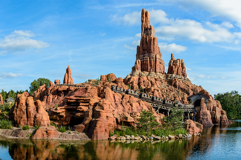 Big Thunder Mountain, Disneyland Paris