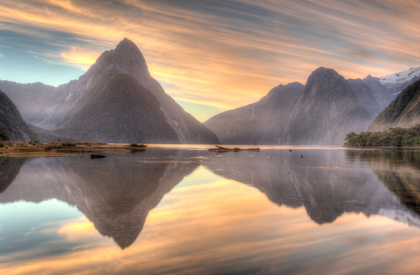 Milford Sound, New Zealand.
