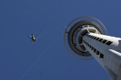 New Zealand Travel Skytower