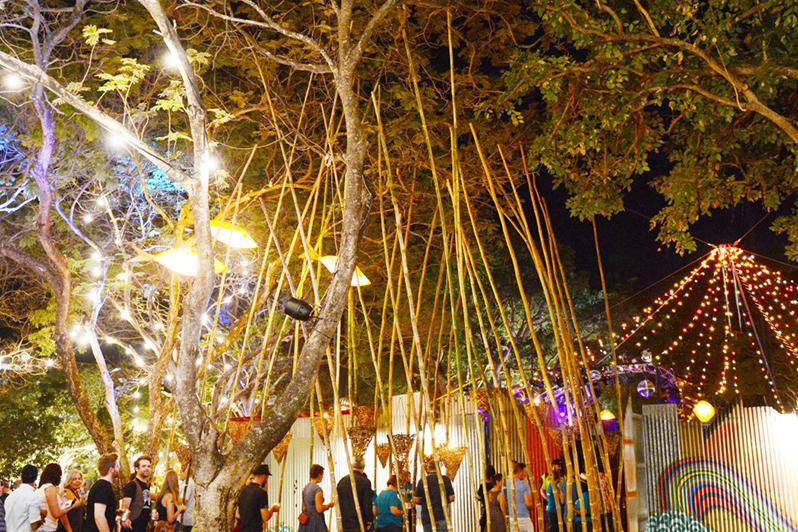 darwin festival lights