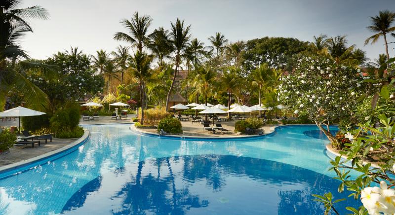 Melia Bali pool area