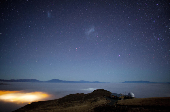 Mt Johnson Observatory, in the South Island of New Zealand.