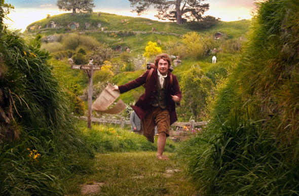 A scene from the movie The Hobbit. Picture: Warner Bros.