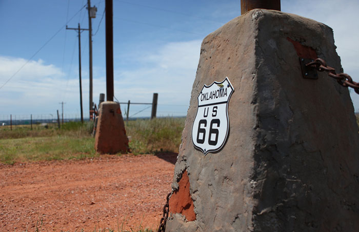 Oklahoma, USA - route 66