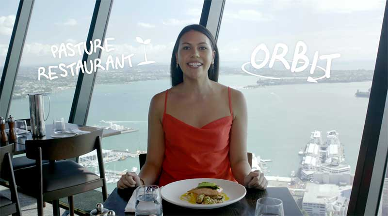 Orbit restaurant skytower auckland