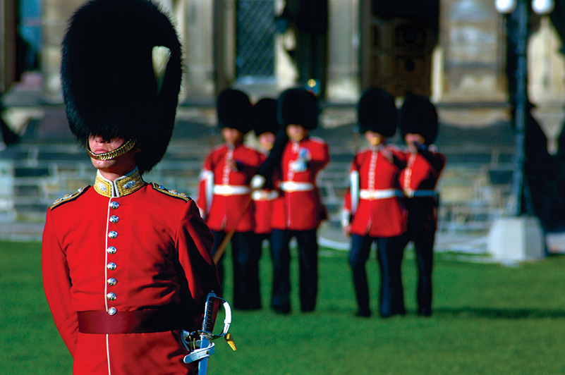 Changing of the Guard in Ottawa