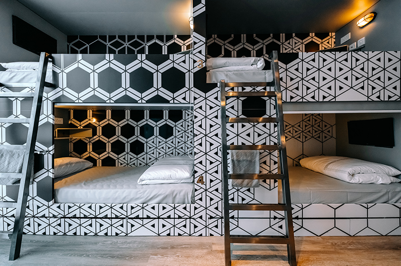 Shared-style room at Mojo Nomad Hong Kong