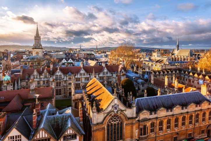 Oxford rooftops uk
