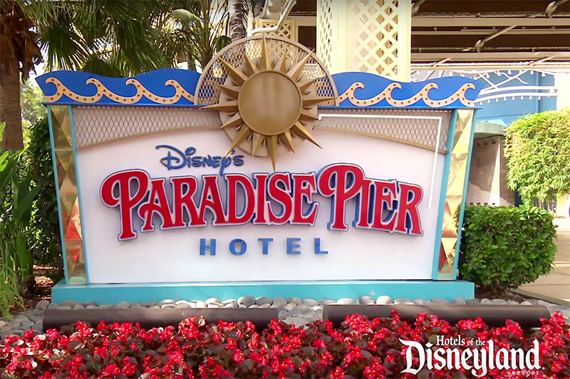 Disneyland Resort, California - Paradise Pier Hotel