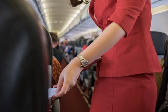 Passengers on Bangkok Airline