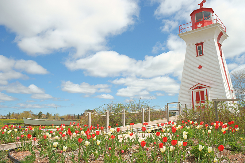 A picture-perfect lighthouse on Prince Edward Island