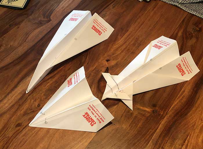 paper plane tips - Flight Centre Australia