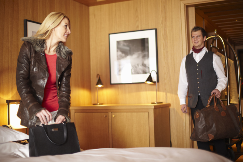 The standard tip for a porter is $1-$2 per bag