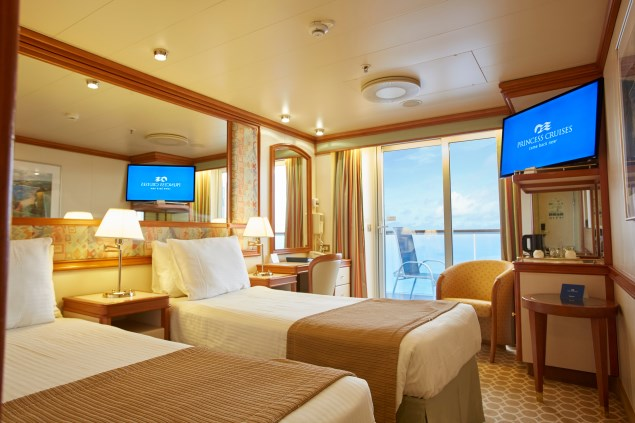 princess diamond balcony stateroom