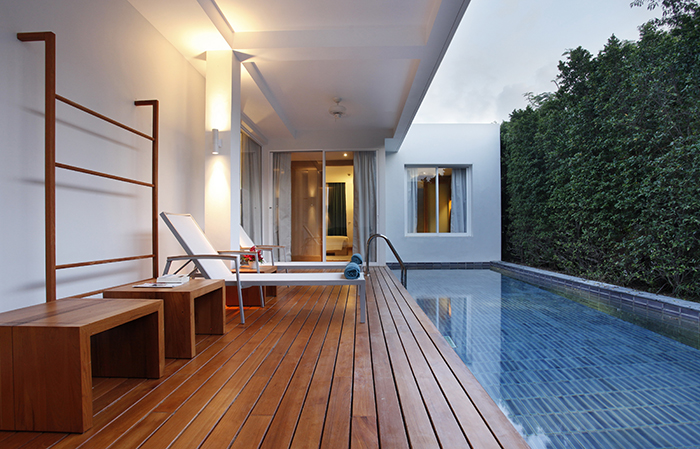 Kick back in a private pool villa at Vibe Phuket.
