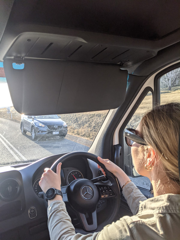 Maui Ultima 2-berth is great for driving around Tasmania