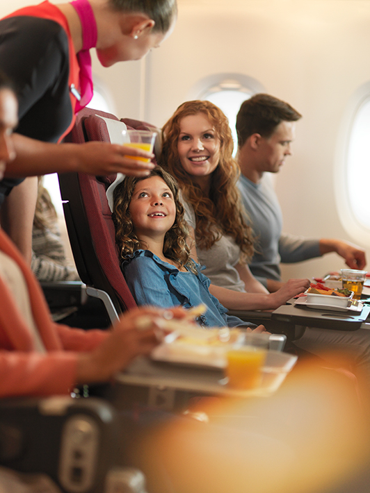 Family-Friendly Qantas Flights