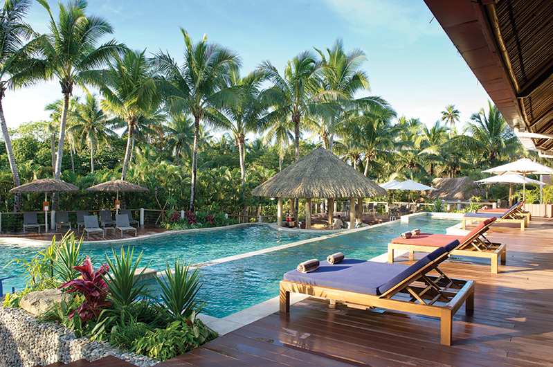 Vahavu Pool exterior, Outrigger Fiji Beach Resort