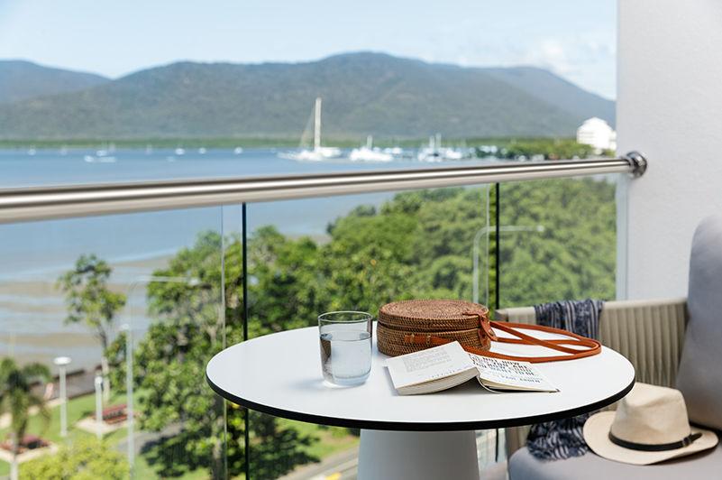 View from Riley resort balcony