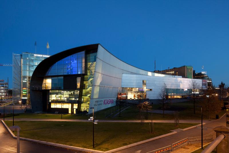 exterior Kiasma Museum of Contemporary Art, Helsinki Finland