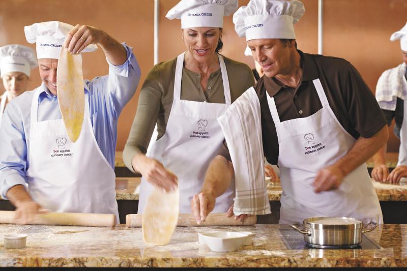 oceania cruise culinary training
