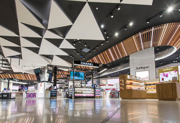 Duty Free shopping at Melbourne Airport