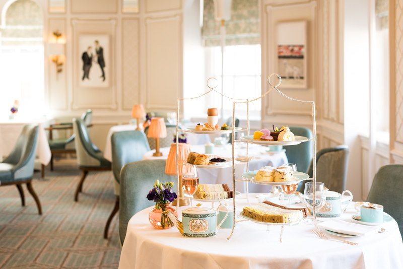 Tea salon at Fortnum & Mason