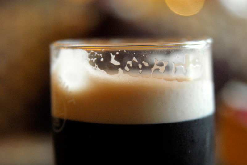 Pint of Guinness ale